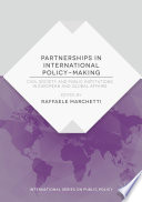 Partnerships In International Policy Making