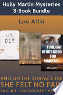Holly Martin Mysteries 3 Book Bundle