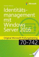 Identit  tsmanagement mit Windows Server 2016