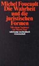 Die Wahrheit und die juristischen Formen