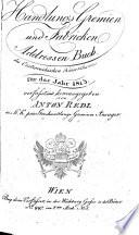 Handlungs-Gremien und Fabricken-Addressen-Buch des österreichischen Kaiserthums für das Jahr 1815