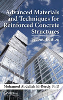 Advanced Materials and Techniques for Reinforced Concrete Structures  Second Edition