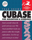 Cubase SX 2 for Macintosh and Windows