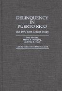 Delinquency in Puerto Rico