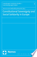 Constitutional Sovereignty and Social Solidarity in Europe