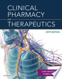 Clinical Pharmacy And Therapeutics : very helpful when i was doing an msc...
