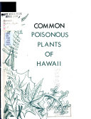 Common Poisonous Plants of Hawaii