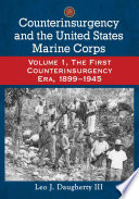 Counterinsurgency and the United States Marine Corps