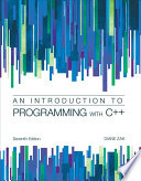 Introduction To Programming With C++ : diane zak's distinctive emphasis on the importance of...
