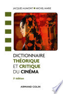 Dictionnaire th  orique et critique du cin  ma   3e   d