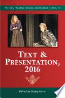 Text   Presentation  2016