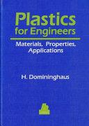 Plastics for Engineers