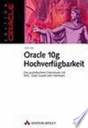 Oracle-10g-Hochverfügbarkeit