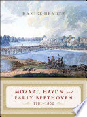 Mozart  Haydn and Early Beethoven  1781 1802