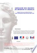 Annuaire des Mairies de Meurthe et Moselle (54)