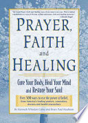 Prayer Faith And Healing