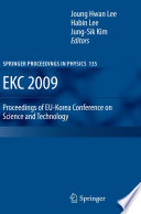 EKC 2009 Proceedings of EU Korea Conference on Science and Technology