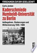Kaderschmiede Humboldt-Universität zu Berlin