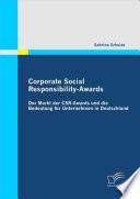 Corporate Social Responsibility-Awards