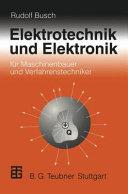 Elektrotechnik und Elektronik