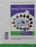 Excellence in Business Communication  Student Value Edition