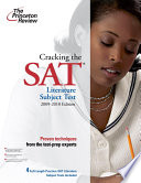 Cracking the SAT Literature Subject Test  2009 2010 Edition