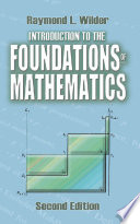 Introduction to the Foundations of Mathematics
