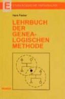Lehrbuch der genealogischen Methode