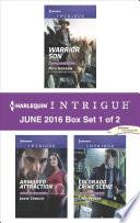 Harlequin Intrigue June 2016   Box Set 1 of 2