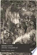 ballads of irish chivalry complete ed