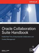 Oracle Collaboration Suite Handbook