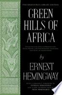 download ebook green hills of africa pdf epub