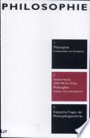Philosophie  Studium  Text und Argument