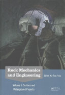 Rock Mechanics and Engineering  Surface and Underground Projects