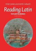 Reading Latin