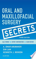 Oral and Maxillofacial Surgical Secrets   E Book