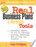 Real Business Plans Marketing Tools