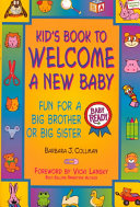 Kid s Book to Welcome a New Baby