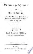 Kirchengeschichte der Stadt Lauben