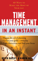 Time Management In An Instant Book PDF