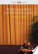 Party and State in Post Mao China