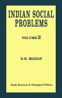 Indian Social Problems (Vol-2)