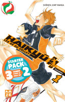 Haikyu  Les as du volley   Starter Pack   T1    3