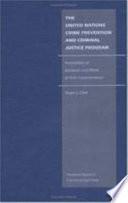 The United Nations Crime Prevention and Criminal Justice Program