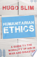 Humanitarian Ethics