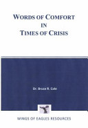 Words of Comfort in Times of Crisis Book PDF
