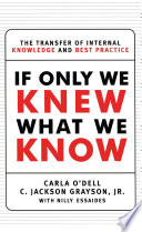 If Only We Knew What We Know Book PDF
