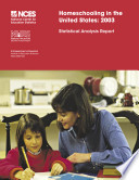 Homeschooling In The United States 2003 Statistical Analysis Report
