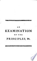 An Examination of the Principles