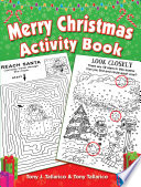 Merry Christmas Activity Book
